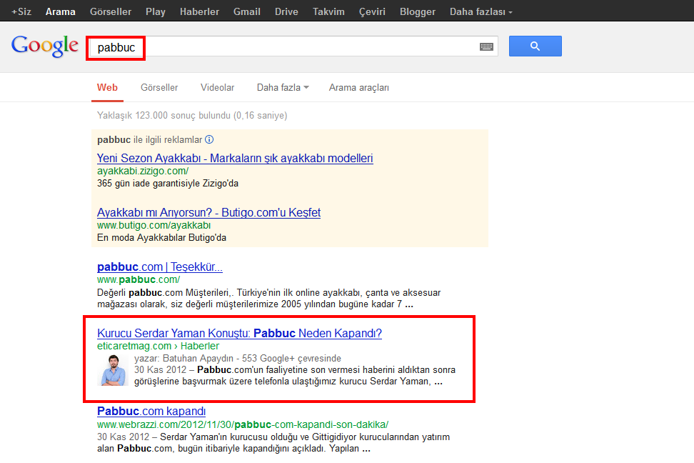 Google Authorship Pabbuc